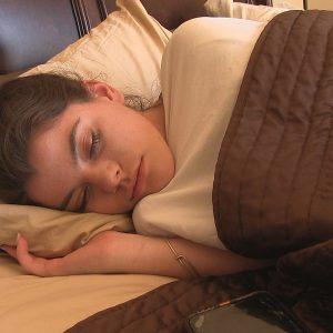 ftv scarlett on the bed